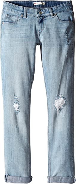 Levi's® Kids Destructed Boyfriend Jeans (Big Kids)