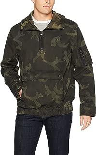 True Religion Men's Anorak Jacket with Camo Print