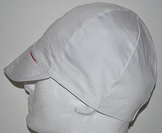 Comeaux Caps Reversible Welding Cap Solid White 7 1/2