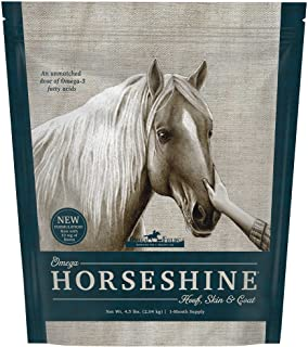 Omega Horseshine 3 Supplement, 4.5 Lb