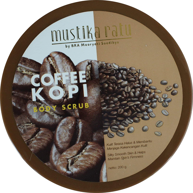 スリッパマットレスシャッターMustika Ratu インドネシア200グラム単位でのコーヒーボディスクラップ