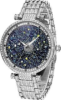 Lady Watch Full Of Austria Crystal HL639B Silver