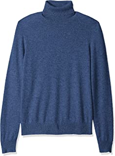 Buttoned Down mens 100% Cashmere Turtleneck Sweater