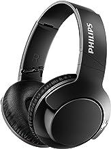 هدفون های بی سیم Philips BASS + SHB3175 ، حداکثر 12 ساعت پخش - مات سیاه