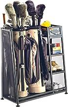 قفسه سازمان دهنده گاراژ Suncast Golf Bag - صندوق نگهدارنده تجهیزات گلف - فروشگاه کیسه های گلف ، کلوپ ها و لوازم جانبی - ایده آل برای گاراژ ، ریخته گری ، زیرزمین