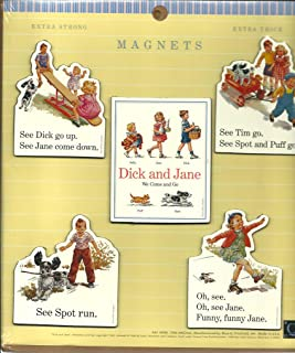 dick and jane magnets