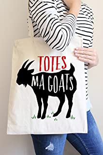 Totes Ma Goats Tote Bag in Natural Color