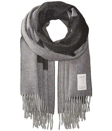 rag & bone Classic Wool Graphic Scarf