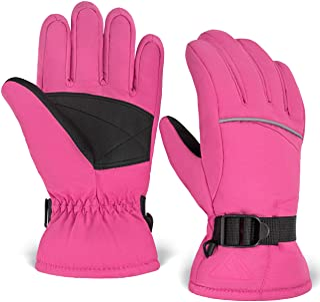 Kids Winter Gloves - Snow & Ski Waterproof Thermal...