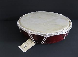 Jive 13 Inch Goat Skin Wooden Hand Drum Bongo Djembe Drum, PROFESSIONAL SOUND