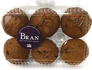 Whole Foods Market, Muffin Bran, 6 Count