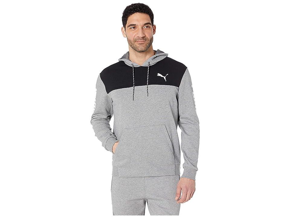 PUMA Modern Sports Hoodie TR (Medium Grey Heather) Men