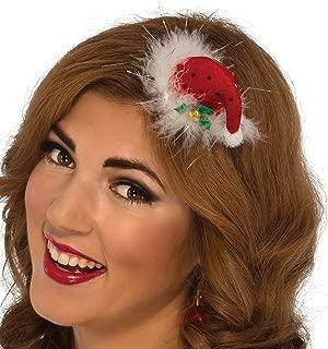 Rubie's Costume Women's Clausplay Sequin Mini Hat
