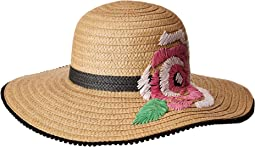 Betsey Johnson - Flowerista Floppy Hat