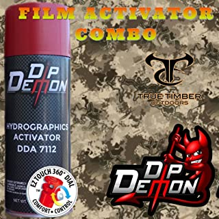 Combo Kit True Timber Western Viper Hydrographic Water Transfer Film Activator Combo Kit Hydro Dipping Dip Demon
