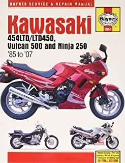 Kawasaki En 450 & 500 Twins 1985 to 2004: 454cc, 498cc (Owners Workshop Manual)