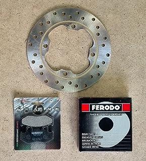 Bremssatz für Honda SH 150 2001 / 2008 Bremsscheibe vorne RMS 225162200 + Backen Ferodo FSB963