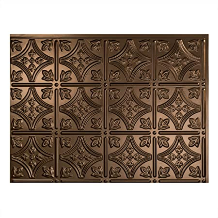 Amazon Com Aspect Peel And Stick Backsplash 3in X 6in Brushed Bronze Long Grain Metal Tile For Kitchen And Bathrooms 8 Pack Home Improvement