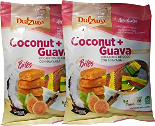 Dulzura Borincana Energy Bites Vegan Snacks Variety (Coconut Guava)
