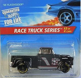 Hot Wheels Black 56 Flashsider Race Truck Series 3 of 4 382 1995