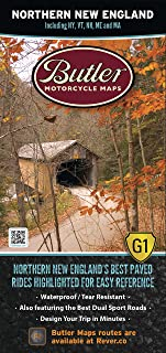 Butler Maps G1 Regional Maps (Northern New England)