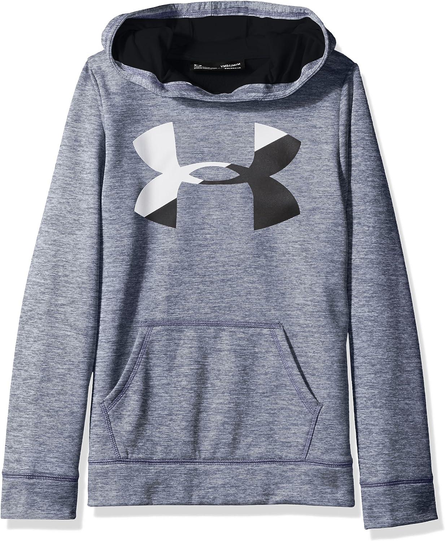 Under Armour Girls' Under Armor Fleece Big Logo Novelty Hoodie