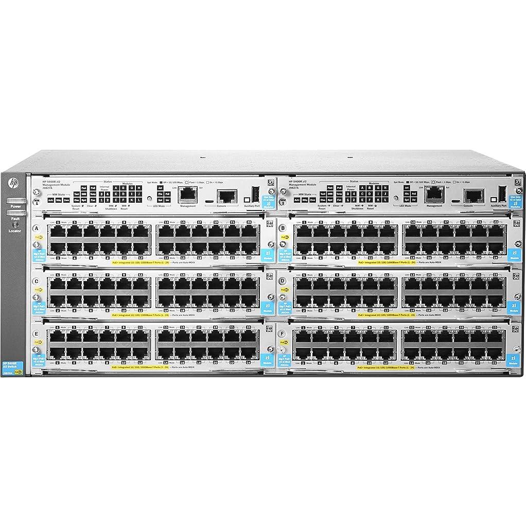 去る桁コートHewlett Packard Enterprise 5412R-92G-PoE+/2SFP+ v2 zl2