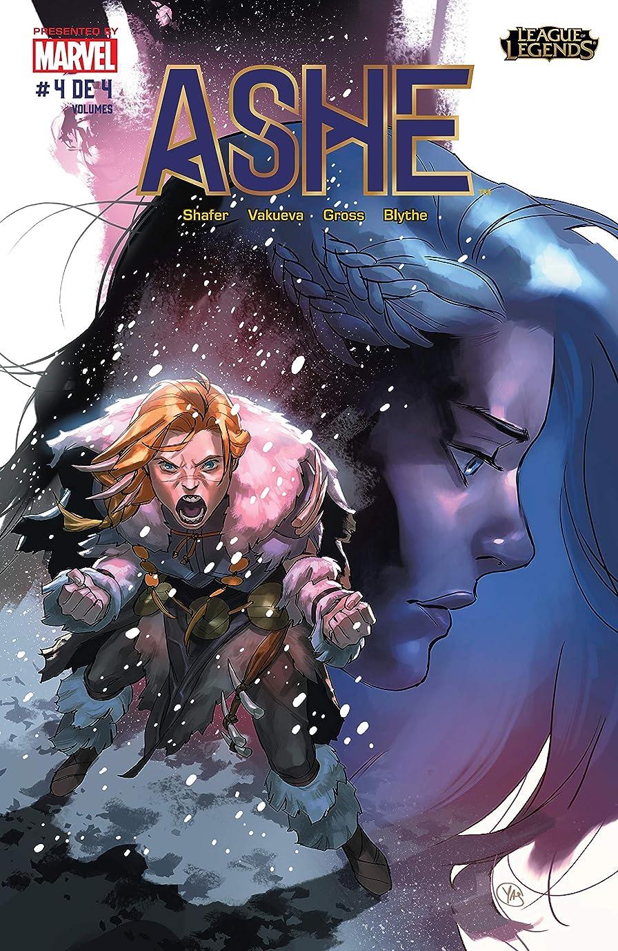 救出胃独裁者League of Legends: Ashe: Warmother Special Edition (Brazilian Portuguese) #4 (of 4) (Portuguese Edition)