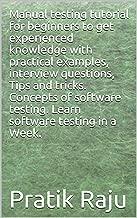 Best manual testing practical examples Reviews