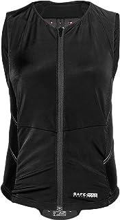 Safe Max® Motorrad Protektorweste Damen Protektorweste 1.0, spezielle Damenschnittführung, Rückenprotektor, besonders atmungsaktiv, spezielle ergonomische Ausformung, Schwarz, S   XL