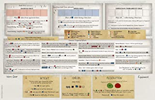 Renegade Game Studios Outbreak Undead 2nd Edition Player Reference Mat