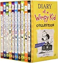 Diary of a Wimpy Kid Series Collection 12 Books Set By Jeff Kinney (Diary of a Wimpy Kid,Rodrick Rules,The Last Straw,Dog ...