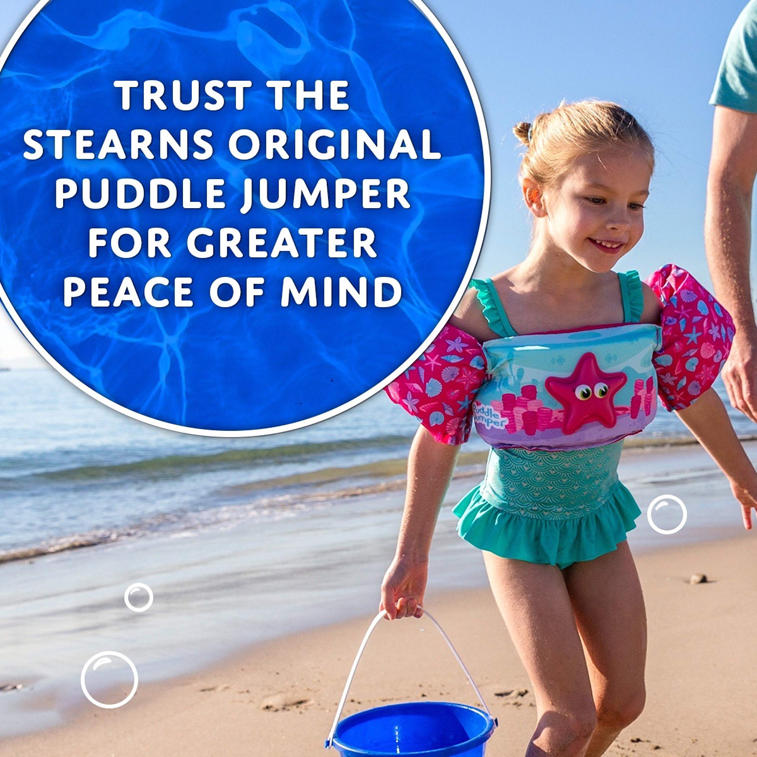 Stearns Original Puddle Jumper Kids Life Jacket   Life Vest for Children  Body Glove Paddle Pals Life Jacket - The Safest U.S. Coast Guard Approved Kids Swim Vest 30 - 50 LBS  Chriffer Kids Swim Vest for 30-50 Pounds Boys and Girls, Toddler Floats with Shoulder Harness Arm Wings for 2,3,4,5,6,7 Years Old Baby Children Sea Beach Pool  AmazeFan Kids Swim Life Jacket Vest for Swimming Pool, Swim Aid Floats with Waterproof Phone Pouch and Storage Bag,Suitable for 30-50 lbs Infant/Baby/Toddler,Children/Sea/Beach  Puoyis Toddler Kids Swim Life Vest, Girls and Boys Swim Vest Swimming Training Life Jacket, Children Swim Vest for Puddle/Beach,Play Like Jumper