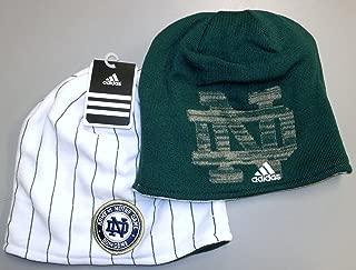 adidas Notre Dame Fighting Irish Army Vs Notre Dame Reversible Knit HAT - KC93Z