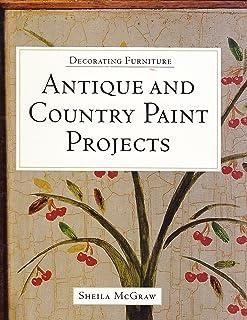Móveis de Decoração: Projetos de Pintura Antiga e Campo