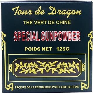 Dragon's Tower Special Gunpowder Loose Leaf China Green Tea - 125 gram (4.41 oz)
