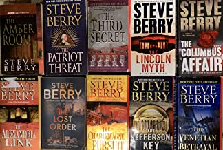 Steve Berry Thriller Novel Collection 10 Book Set