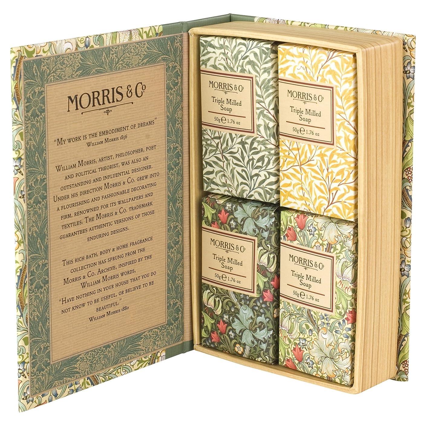 機械的に分子売るヒースコート&アイボリーモリス&共同黄金ユリゲストソープセット200グラム (Heathcote) (x6) - Heathcote & Ivory Morris & Co Golden Lily Guest Soap Set 200g (Pack of 6) [並行輸入品]