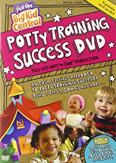 Pull-ups Big Kid Central Potty Training Success Dv