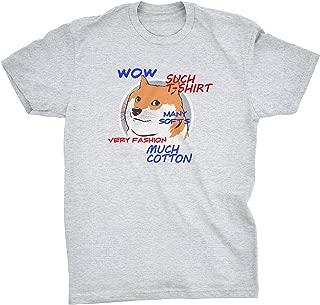Such T-shirt Much Cotton Doge Meme T-shirt