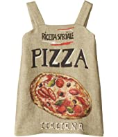 Dolce & Gabbana Kids - Pizza Stuoia Dress (Toddler/Little Kids)