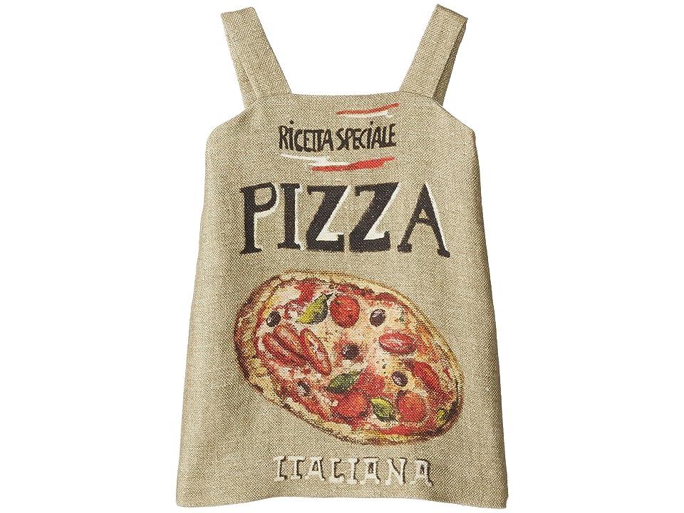 Dolce & Gabbana Kids Pizza Stuoia Dress (Toddler/Little Kids) (Pizza Print) Girl
