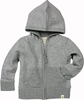 Burt's Bees Baby Unisex Baby Sweatshirts, Lightweight Zip-up Jackets & Hooded Coats, Organic Cotton