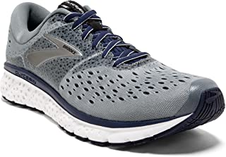 Brooks Mens Glycerin 16 - Grey/Navy/Black - D - 9.0