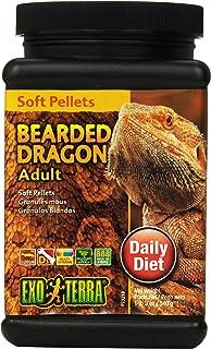 Exo Terra Soft Adult Bearded Dragon Food, 19-Ounce