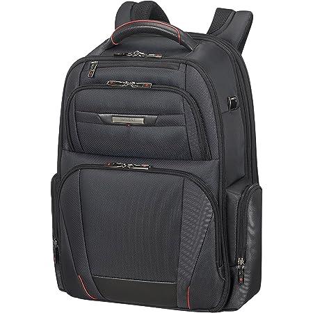Samsonite PRO-DLX 5 - Backpack Expandable for 17.3 pulgadas Laptop 29/34L, 1.7 Kg Mochila tipo casual, 48 cm, 29 litros, Negro (Black)