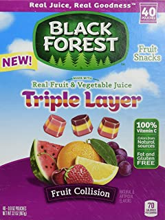 Best black forest triple layer fruit collision Reviews