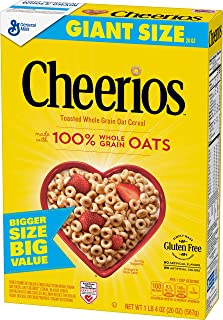 Cheerios, Gluten Free, Cereal with Whole Grain Oats, 20 oz