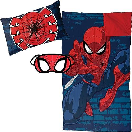 Spiderman Marvel Zaap 3-teiliges Plüsch-Schlafset