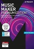 MAGIX Music Maker – 2018 Premium Edition – Die Audiosoftware mit mehr Sounds, Instrumenten und Möglichkeiten [Download]